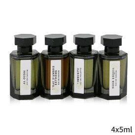 ラルチザンパフューム セット&コフレ L'Artisan Parfumeur ギフトセット Collection D'Orient: Al Oudh EDP + L'Eau D'Ambre Extreme Timbuktu EDT Noir Exquis 4x5ml レディース 女性用 お試し フレグランスセット おしゃれ 人気 コスメ