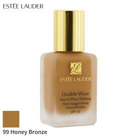 エスティローダー リキッドファンデーション Estee Lauder Double Wear Stay In Place Makeup SPF 10 - No. 99 Honey Bronze (4W1) 30ml メイクアップ フェイス カバー力 人気 コスメ 化粧品 誕生日プレゼント ギフト