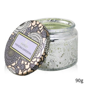ボルスパ アロマキャンドル Voluspa キャンドル おしゃれ 可愛い Petite Jar Candle -Yashioka Gardenia 90g ホームフレグランス 人気 コスメ 化粧品 誕生日プレゼント ギフト