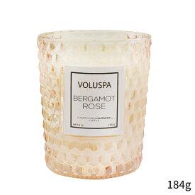 ボルスパ アロマキャンドル Voluspa キャンドル おしゃれ 可愛い Classic Candle - Bergamot Rose 184g ホームフレグランス 人気 コスメ 化粧品 誕生日プレゼント ギフト