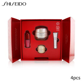 資生堂 セット&コフレ Shiseido ギフトセット Smooth Skin Sensations Set: Benefiance Day Cream SPF23 50ml + Ultimune Concentrate 10ml Smoothing 15ml Eye 5ml 4pcs レディース スキンケア 女性用 基礎化粧品 スキンケアセット