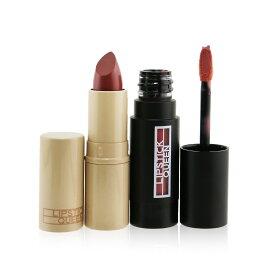 リップスティッククィーン セット&コフレ Lipstick Queen ギフトセット Indulge Me Lip Duo: 1x Lipdulgence Mousse #Nude A La Mode + Nothing But The Nudes #Hanky Panky Pink 2pcs メイクアップ メイクアップセット おしゃれ 人気 コスメ 化粧品
