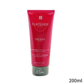 ルネフルトレール シャンプー Rene Furterer Okara Color Radiance Ritual Protection Shampoo (Color-Treated Hair) 200ml ヘアケア 人気 コスメ 化粧品 誕生日プレゼント ギフト
