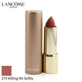 ランコム リップスティック Lancome 口紅 L'Absolu Rouge Intimatte Matte Veil Lipstick - # 274 Killing Me Softly 3.4g メイクアップ リップ 落ちにくい 人気 コスメ 化粧品 誕生日プレゼント ギフト