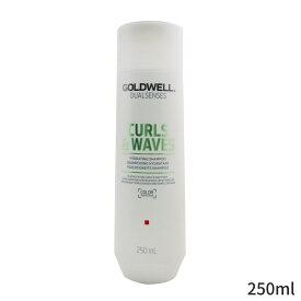 ゴールドウェル シャンプー Goldwell Dual Senses Curls & Waves Hydrating Shampoo (Elasticity For Curly Wavy Hair) 250ml ヘアケア 人気 コスメ 化粧品 誕生日プレゼント ギフト