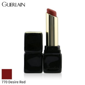 ゲラン リップスティック Guerlain 口紅 Kisskiss Tender Matte Lipstick - # 770 Desire Red 2.8g メイクアップ リップ 落ちにくい 人気 コスメ 化粧品 誕生日プレゼント ギフト