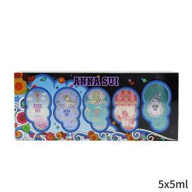 アナスイ セット&コフレ Anna Sui ギフトセット Miniature Coffret: Secret Wish 5ml + Sky +Fantasia Fantasia Mermaid Forever 5x5ml レディース 女性用 お試し フレグランスセット おしゃれ 人気 コスメ 化粧品