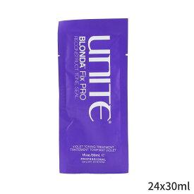 ユナイト トリートメント Unite BLONDA Fix PRO Violet Toning Treatment (Salon Product) 24x30ml ヘアケア 人気 コスメ 化粧品 誕生日プレゼント ギフト