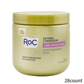 ロック 洗顔フォーム ROC 洗顔料 Retinol Correxion Line Smoothing Daily Cleansing Pads 28count レディース スキンケア 女性用 基礎化粧品 フェイス 人気 コスメ 化粧品 誕生日プレゼント ギフト