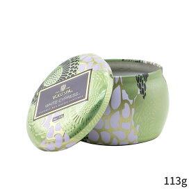 ボルスパ アロマキャンドル Voluspa キャンドル おしゃれ 可愛い Mini Tin Candle - White Cypress 113g ホームフレグランス 人気 コスメ 化粧品 誕生日プレゼント ギフト