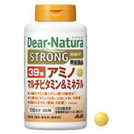ディアナチュラ ストロング 39種アミノ マルチビタミン&ミネラル 100日分 300粒 【Asahi Dear-Natura サプリメント 健康食品】