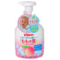 ピジョン 薬用全身泡ソープ ももの葉 450mL 【Pigeon 桃の葉 美容 ベビーソープ 全身用 赤ちゃん ボディソープ ボディケア 洗浄】