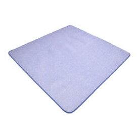 クールラグマット 2畳 ネイビー 約180×180cm 【iiもの本舗 ひんやり冷たいルームマット 接触冷感ラグ 暑さ対策】