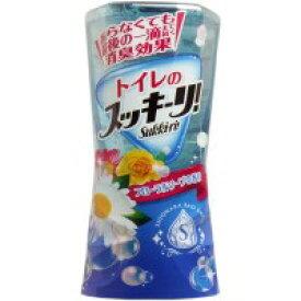 トイレのスッキーリ!フローラルソープの香り 400mL【トイレ掃除 便所 便器 便座 除菌 衛生】