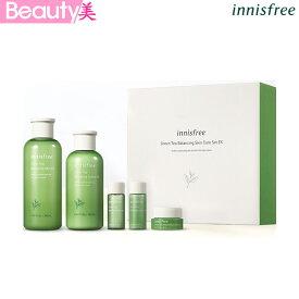 【イニスフリー】グリーンティー バランシングスキンケアセット innisfree GreenTea Balancing Skin Care Set EX 韓国コスメ[楽天海外直]
