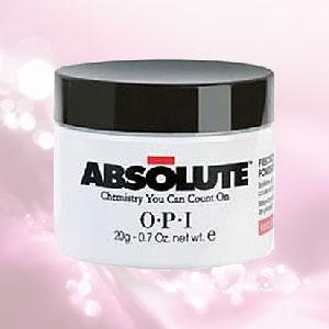 【送料無料】OPI アブソルートパウダー ホワイト  20g