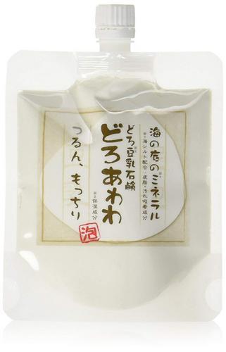 【ゆうメール等で送料無料2】どろ豆乳石鹸どろあわわ(110g)