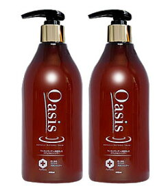 【送料無料】髪と頭皮の基礎化粧品発想 【2個】オーセル・オアシス 天然シャンプー 400ml