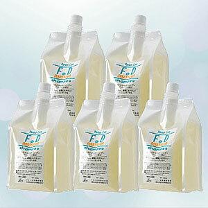 【BSP】フタバ化学 F・Dシャンプー 1000ml詰め替え用×5 計5L ※グレープフルーツの香り