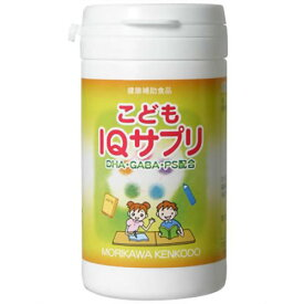 【送料無料】森川健康堂 こどもIQサプリ 90粒