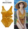 Swimsuit Lady's figure cover dress big size velour all-in-one adult girl tank top bikini ribbon m l xl ll red black yellow mail order 9 11 13 monokini dress trend 2019 new work swimsuit