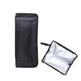 【メール便/送料無料】ヘアアイロンカバー(ブラック)HAC1800耐熱素材でラクラク収納