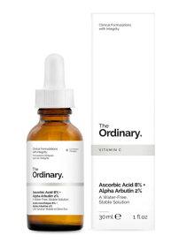 送料無料 The Ordinary - Ascorbic Acid 8%+Alpha Arbutin 2% 30ml ビタミンC 8% + アルファアルブチン 2% ジ オーディナリー : 化粧品 コスメ ブランド スキンケア 海外通販
