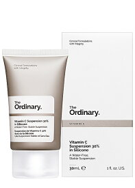 送料無料 The Ordinary - Vitamin C Suspension 30% in Silicone 30mlビタミンC サスペンションクリーム 30% シリコン ジ オーディナリー : 化粧品 コスメ ブランド スキンケア 海外通販