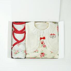 【送料無料】 ベビー服ギフトボックスセット(Sweet girl)3点セットB【秋冬】(女の子/50cm/60cm/ベビー服/ブランド/スウィートガール/出産祝い)