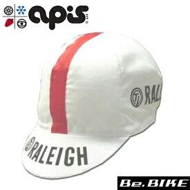 apis RALEIGH 自転車 キャップ サイクルキャップ