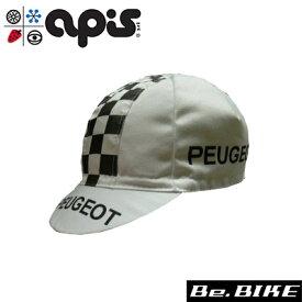 apis PEUGEOT 自転車 キャップ サイクルキャップ