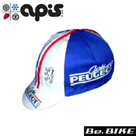 apis PEUGEOT FR 自転車 キャップ サイクルキャップ