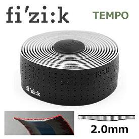 fi'zi:k フィジーク ブラック 2mm厚 Tempo マイクロテックス クラシック 自転車 バーテープ ロードバイク