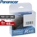 Panaracer(パナレーサー) R'AIR (Rエアー) TW723-28LF-RA W/O 700×23〜28C [仏式48mm] 自転車 チューブ