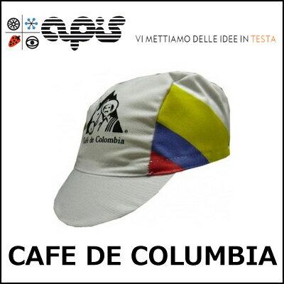 apis CAFE DE COLUMBIA 自転車 キャップ サイクルキャップ