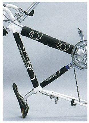 オーストリッチフレームカバーC4枚セットサイズ:220mm×200mm自転車ロードbebike