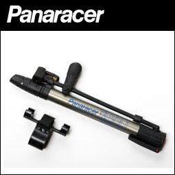 ミニフロアポンプ panaracer(パナレーサー) 携帯用 自転車 空気入れ(米式・仏式・英式バルブ対応、浮き輪用アダプター・ボール用アダプター付) BFP-AMAS1 自転車 bebike