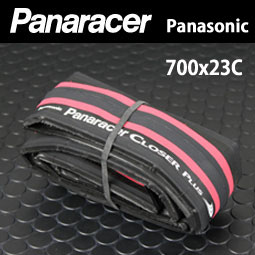 パナレーサー クローザー プラス 700×23C レッド 【80】(F723-CLSP-R) ロードバイク タイヤ 自転車 ピストバイク 700C bebike