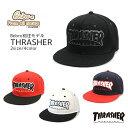THRASHER スラッシャー キャップ フリーサイズ KIDS 子供 キッズ 帽子 別注 オリジナル ベースボールキャップ Bebro ビブロ 別注モデル