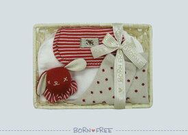 『 BORN FREE ボンフリー カゴミニ-10 ファースト セット アカ 』 出産祝い 出産祝 男の子 おとこのこ 女の子 おんなのこ ベビー用品 出産祝い おしゃれ かわいい 日本製 赤ちゃん