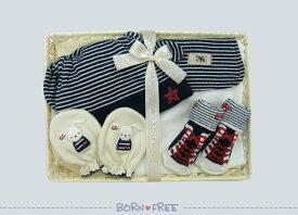 BORN FREE ( ボンフリー ) カゴS-23 おでかけ セット コン ベビー用品 出産祝い おしゃれ かわいい 日本製 女の子 男の子 赤ちゃん