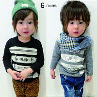 CHANNELチャンネルスケボーロングTシャツ子供服キッズ服ロンTこども80cm90cm100cm110cm120cm130cm140cm女の子男の子