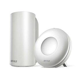 BUFFALO WiFi 無線LAN AirStation connect 親機+中継機セットモデル WRM-D2133HP/E1S 11ac ac2200 1733+400Mbps デュアルバンド 独自