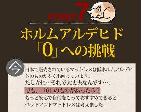 マットレスポケットコイル【シングル】または【85スモールシングル】もっちり低反発フォームEN111Pさらさら新3DメッシュBB118P(片面仕様)P11Sep16