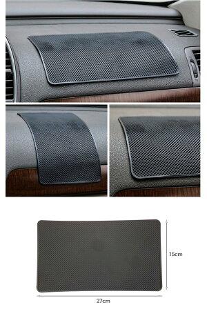 車載スマホホルダーシリコンマット大型タイプスタンドぴたマット滑り止めシートマット車内iPhoneスマホシリコン滑り止めマット貼り直しも可能車載用携帯ホルダー粘着シート