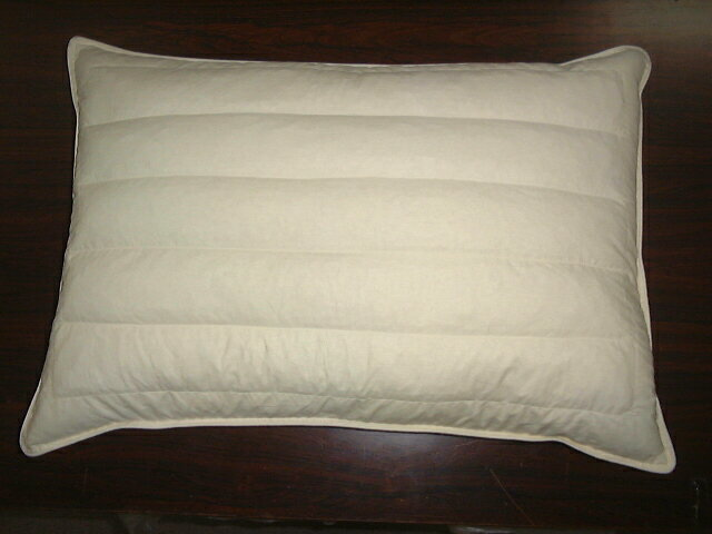 羽根枕[羽根まくら・羽枕]+パイプ枕[パイプまくら]の2つの機能をもち両面使用できますその日の体調によりお使い分けください