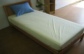 ●アウトレット大処分最高品質・高密度マットレスカバーダニが通れない超長綿200双糸・495本/インチシングルサイズのみボックスシーツ、ベッド生活の必需品