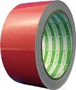 日東エルマテ 再帰反射テープ 45mmx10m 赤 【1巻】【HT45R】(テープ用品/反射テープ)
