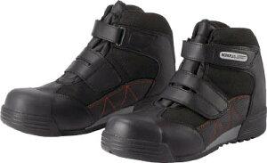 ミドリ安全 ワイド樹脂先芯入りハイカットスニーカー 25.5CM 【1足】【MPC525BK25.5】(安全靴・作業靴/プロテクティブスニーカー)
