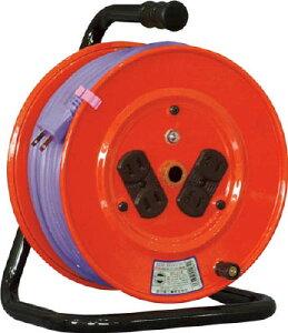 日動 電工ドラム 標準型100Vドラム 2芯 30m ソフト電線 【1台】【NR304DS】(コードリール・延長コード/コードリール100V)
